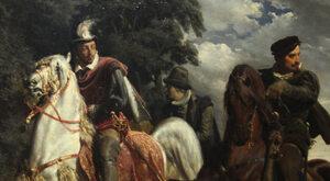 """""""Ucieczka Henryka Walezego z Polski"""" - obraz Artura Grottgera z historią..."""