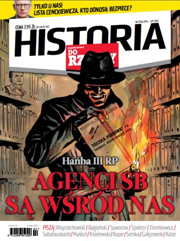 """Okładka miesięcznika """"Historia Do Rzeczy"""" nr 2/2016 (36)"""
