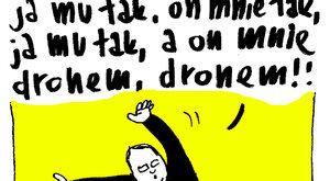 Księdza? Dronem?