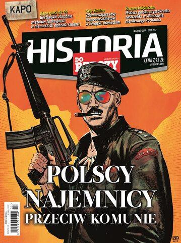 """Okładka miesięcznika """"Historia Do Rzeczy"""" nr 2/2017 (48)"""